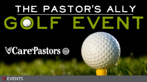 Pastor's Ally Golf Event