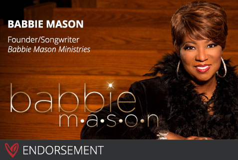 Babbie Mason's Endorsement