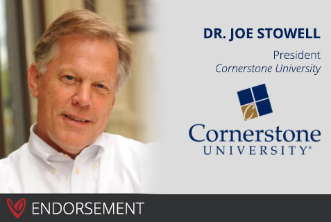 Dr. Joseph Stowell's Endorsement