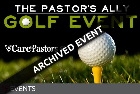 The Pastor's Ally Golf Event