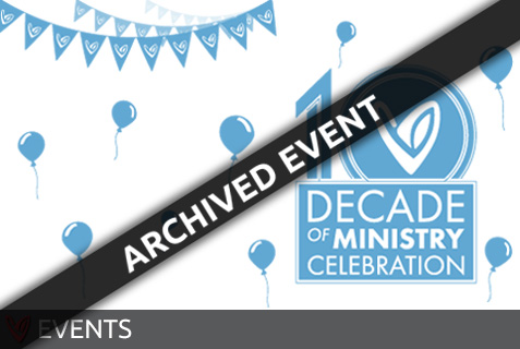 Decade of Ministry Celebration