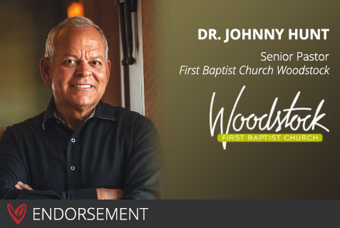 Dr. Johnny Hunt's Endorsement