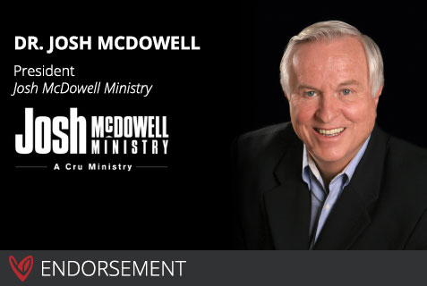 Dr. Josh McDowell's Endorsement