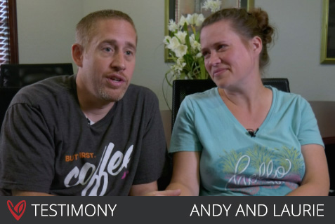 Andy and Laurie – 1 Year Later